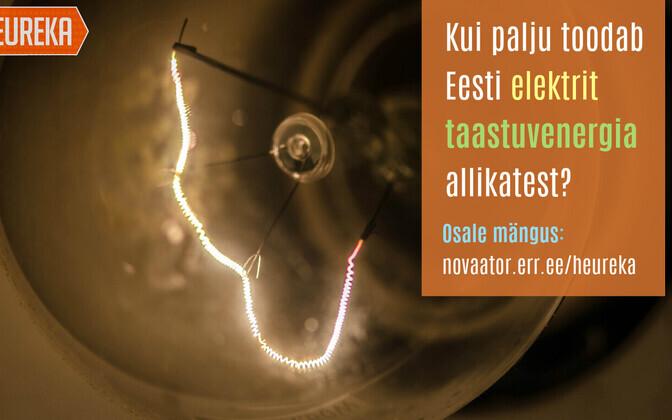 Kui palju toodab Eesti taastuvenergiast elektrit?