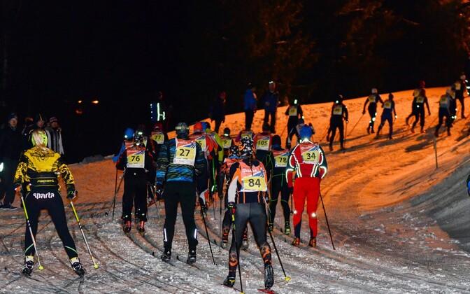 Suusahullude maraton 2015