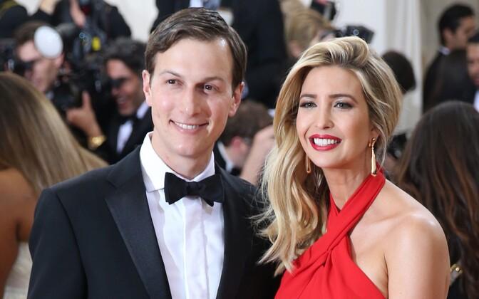 Jared Kushner ja tema abikaasa Ivanka Trump.