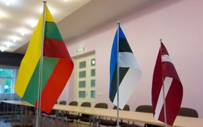 Flags of the Baltic states