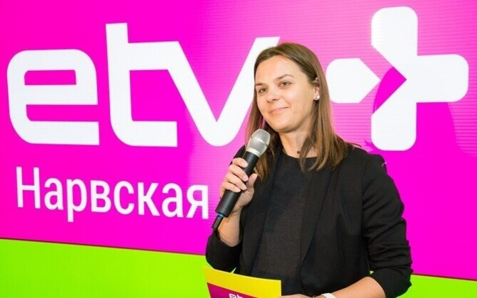Editor-in-chief of ETV+, Darja Saar.
