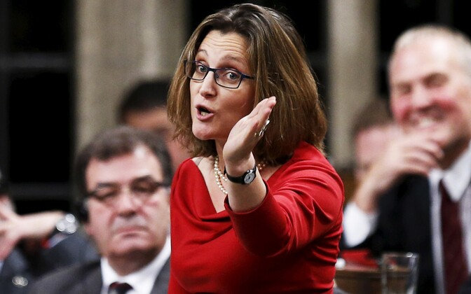 Kanada välisminister Chrystia Freeland.