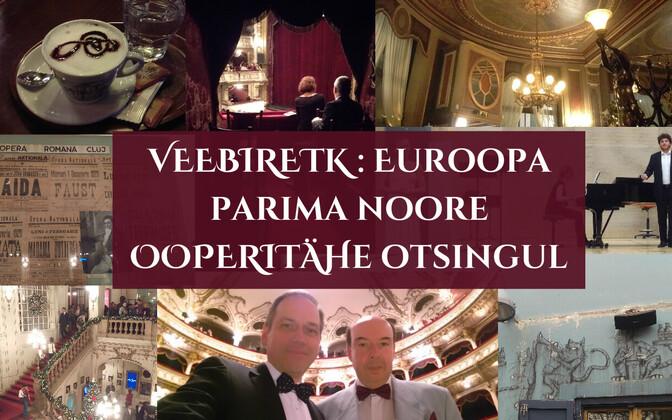 Eesti muusikud kuulavad üle Euroopa parimaid noori ooperilauljaid, et säravamatest säravamad tuua mai alguses Eestisse konkursi lõppvooru.