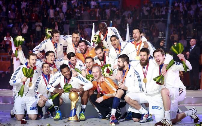 2015. aastal maailmameistriks kroonitud Prantsusmaa käsipallikoondis