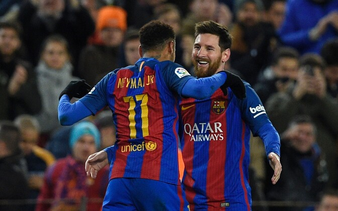 Neymar ja Lionel Messi