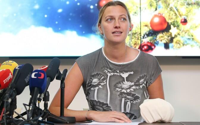 Paar päeva pärast rünnakut rääkis Petra Kvitova juhtunust ka pressikonverentsil.