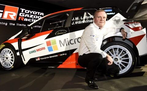 Toyota Yaris WRC, Tommi Mäkinen