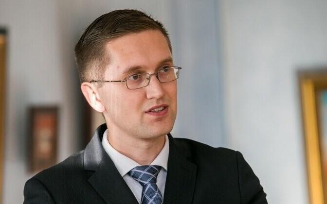 Member of the Riigikogu Jaak Madison (EKRE).