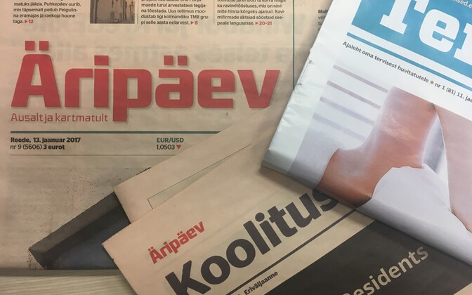 Estonian papers, in particular Äripäev and Postimees, have recently faced criticism for their approach to advertising.