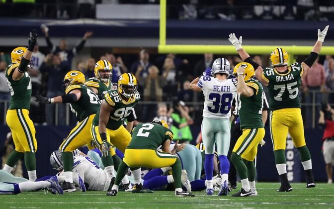 Green Bay Packersi võiduvärav Dallas Cowboysi vastu