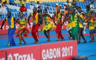 Aafrika rahvuste karikaturniiri avamine Gabonis