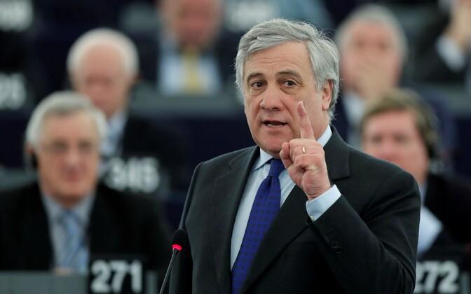 Euroopa Parlamendi president Antonio Tajani.
