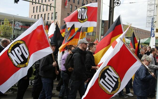 NPD aktivistid 2013. aastal Berliinis.