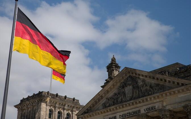 Riigipäevahoone Berliinis.