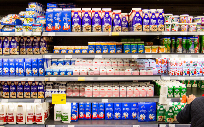 Milk and milk products were over ten percent more expensive on year in September.