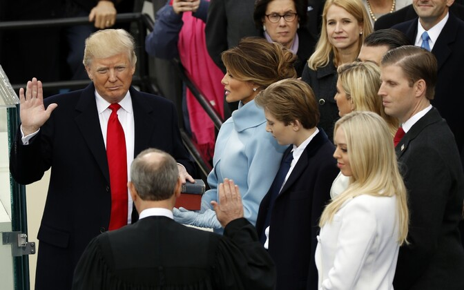20. jaanuaril sai ametlikult USA presidendiks Donald Trump.
