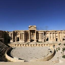 Vana-Rooma perioodist pärinev amfiteater, arhiivifoto.