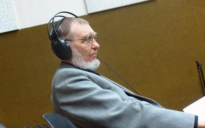 Veljo Tormis raadiomaja stuudios