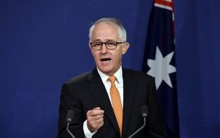 Austraalia peaminister Malcolm Turnbull.