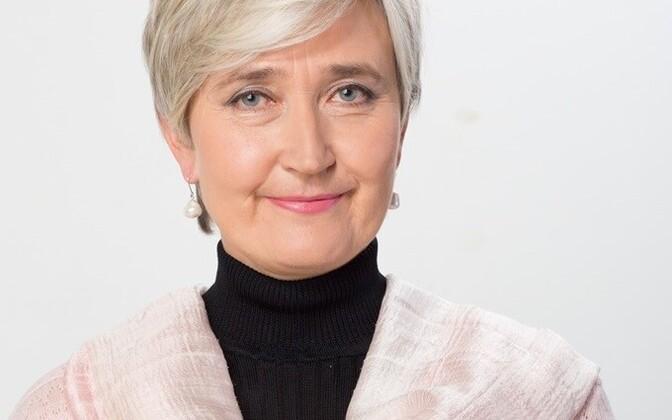 Member of the Riigikogu Marianne Mikko (SDE).