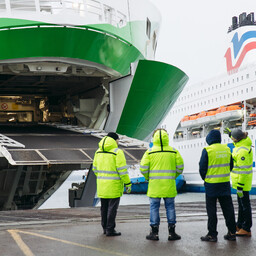 Tallink ferries.