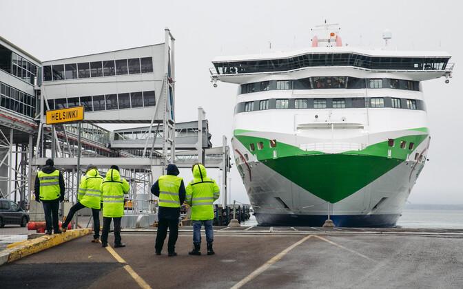 MS Megastar's maiden voyage on Jan. 29, 2017.