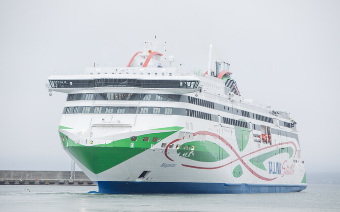 The Megastar, shipper Tallink's new gas-powered high-speed ferry.