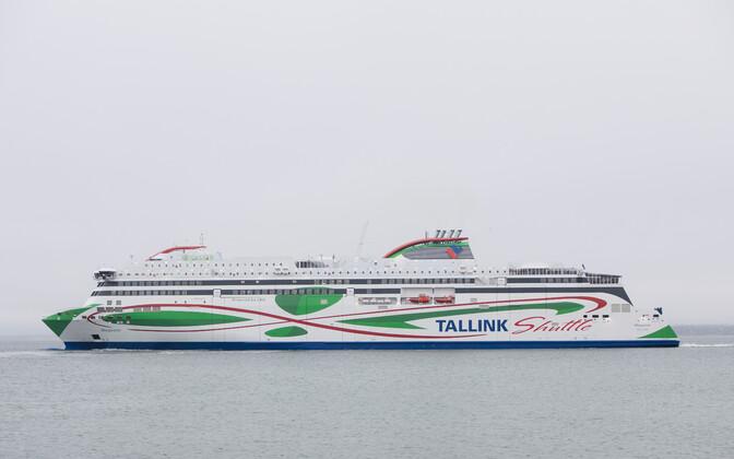 Tallinki uusima laeva Megastari esimene graafikujärgne väljumine Tallinnast 29. jaanuaril.