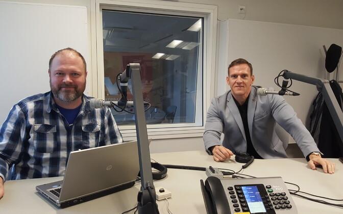 Ott Kiivikas (paremal) saates