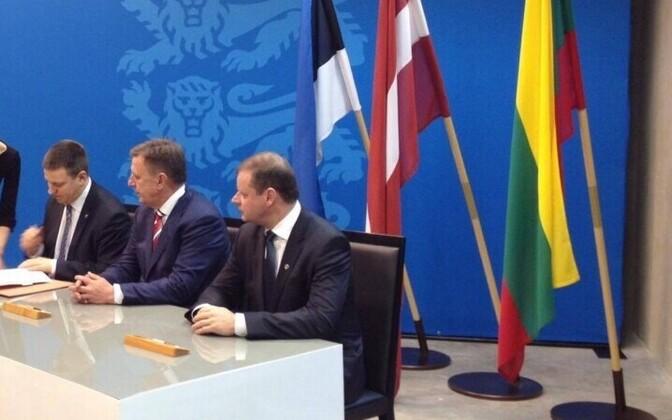 Balti peaministrid.