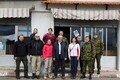 Members of Estonia's National Defence Committee of the Riigikogu visited Estonian troops serving on a UN peacekeeping mission in Lebanon. Jan. 30-Feb. 1, 2017.