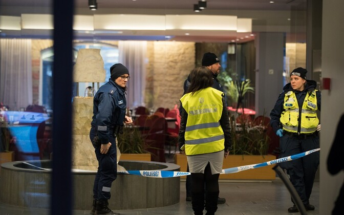 The shooting took place at Tallinn's Metropol hotel.