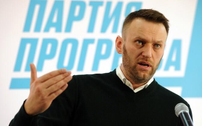 Venemaa opositsioonipoliitik Aleksei Navalnõi.