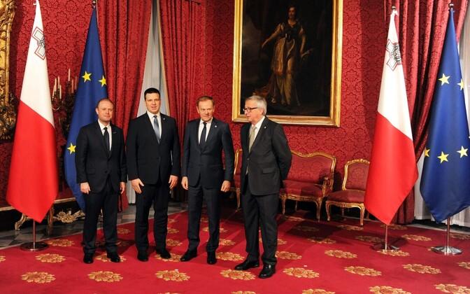 Valitsusjuhid Maltal.
