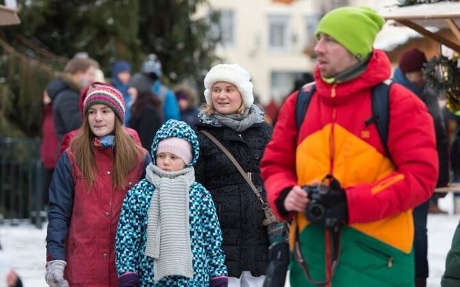 Таллинн притягивает туристов со всего мира.