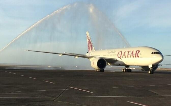 Самолет авиакомпании Qatar Airways