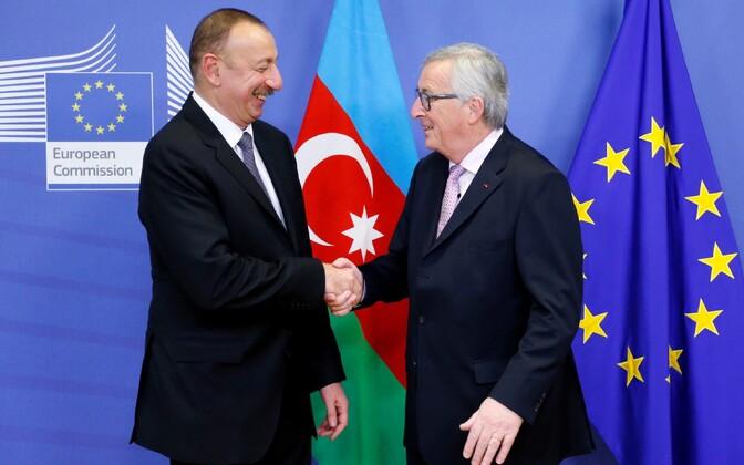 Alijev ja Juncker 6. veebruaril Brüsselis kohtumas.