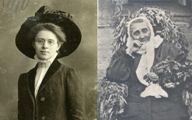 Marie Reisik (vasakul) ja Lilli Suburg