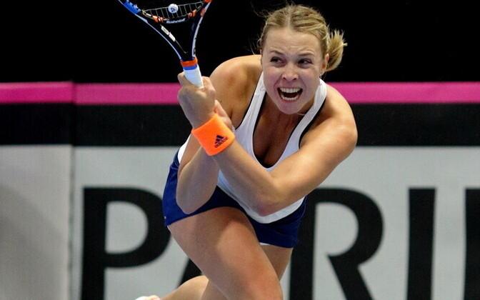Fed Cup turniir Tallinnas - Anett Kontaveit