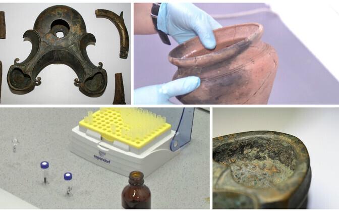 Nii potikildudest kui vanast pronkslambist on orgaanilise keemia meetoditega võimalik päris üht-teist uut teada saada.