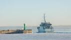 Eesti mereväe staabi- ja toetuslaev Wambola saab NATO miinitõrjegrupi lipulaev.