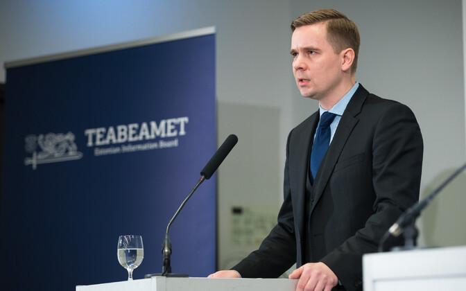 Juulist on Mikk Marrani ametinimetus välisluureameti juht.