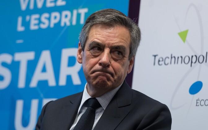Presidendikandidaat Francois Fillon.