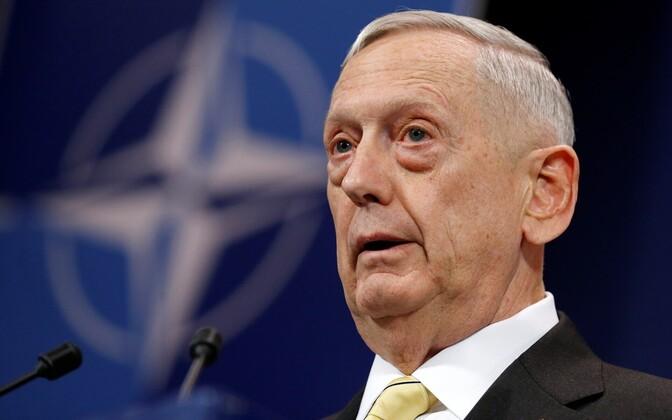 U.S. Secretary of Defense James Mattis.