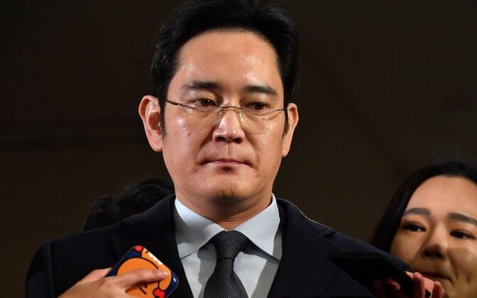 Samsungi aseesimees Lee Jae-yong.