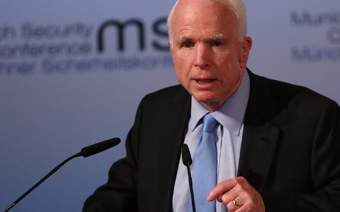 Senaator John McCain Müncheni julgeolekukonverentsil.