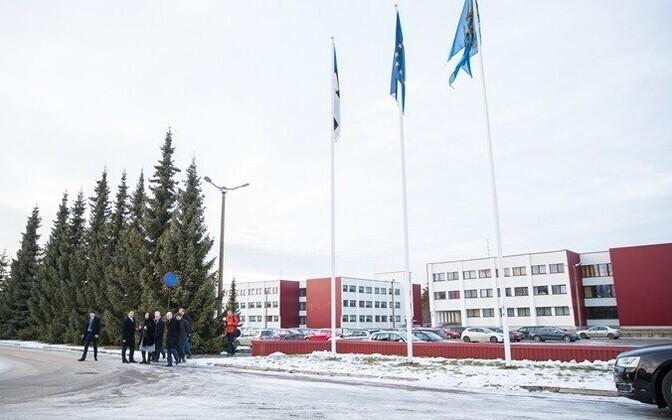 Академия МВД пока расположена в столичном районе Пирита.