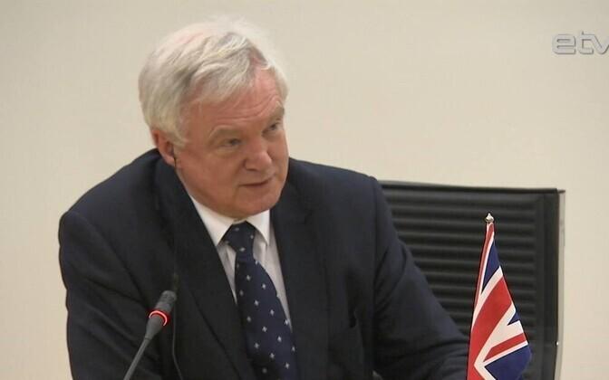 Министр Дэйвид Дэвис.