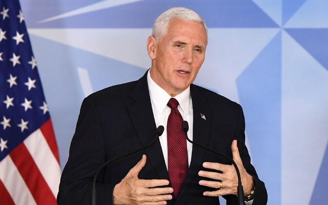 USA asepresident Mike Pence.