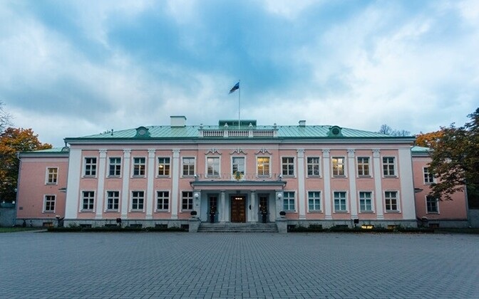 The seat of the President of the Republic in Kadriorg.